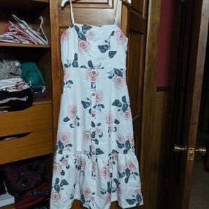 Floral midi dress NWT